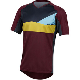 PEARL iZUMi Launch Short Sleeve Jersey Men port/midnight navy wave